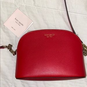 NWOT Red Kate Spade purse